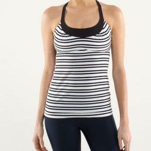 Lululemon | Scoop Me Up Tank - Black & White